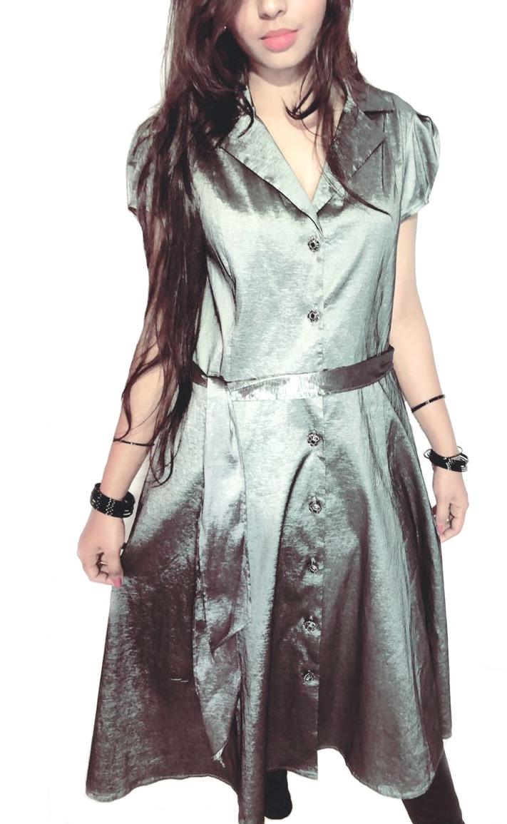 Silver /grey dress